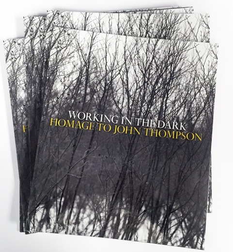 WORKING IN THE DARK AN HOMAGE TO JOHN THOMPSON [cover]